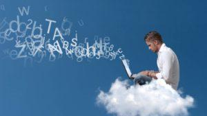 cloud diensten - werken in de cloud
