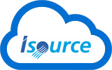 hosted exchange, cloud desktop en cloud opslag isource logo